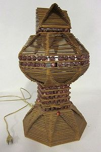 Image result for popsicle stick lamps instructions