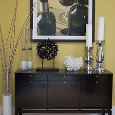 Small Entryway Ideas | Another design by Erinn Valencich for Light It Up. Love her styling ...