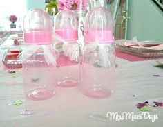 Baby Shower on a Budget baby bottle bottoms up game