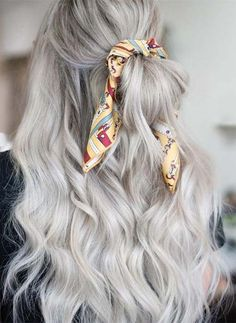 Awesome Scarf Styling Ideas For Casual Routine Work Easy Work Hairstyles, Bobby Pin Hairstyles, Headband Hairstyles, Braided Hairstyles, Casual Hairstyles For Long Hair, Woman Hairstyles, Amazing Hairstyles, Holiday Hairstyles, Hairstyle Ideas