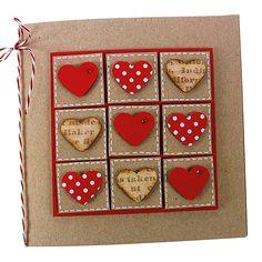 Kortti koristeltu kuviolävistäjän avulla leikatuilla sydämillä. Diy Christmas Gifts, Christmas Cards, Merry Christmas, Holiday Decor, Love Cards, Diy Cards, Valentine Day Cards, Making Ideas, Gift Tags