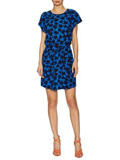 Nelly Flutter Print Mini Dress by CECE at Gilt
