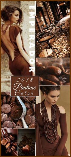 '' Emperador- 2018 Pantone Color '' by Reyhan S.D farben