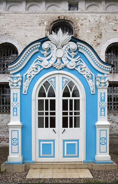 MAISON de BALLARD: When One Door Closes... Beautiful Doors From Around the World: Russian Church of the Theotokos of Vladimir (Mavrino) 11 via rhballard.blogspot.com