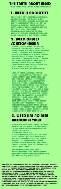 #Marijuana #truth