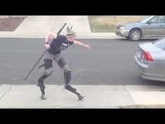 Digilegs Demo. Also, give a staff to those on two-legged stilts. It'll help with balance.