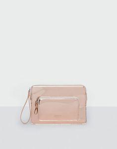 Pull&Bear - mulher - novidades - novidades - carteira metalizada rosa - 1-248 - 14090214-V2017