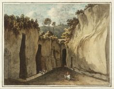 Grotto of Pausilippo John Warwick Smith