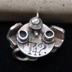 T 4 2 Tea for Two Charm Vintage Sterling Silver Detailed Moves | eBay