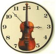 Reloj de pared violín