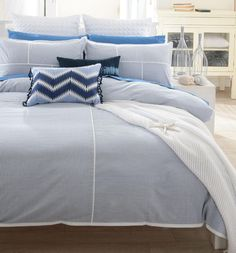 Williams Sonoma Home Seersucker Bedding Love The