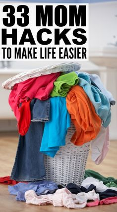 Whether you're a working mom or stay-at-home mom, just had a baby or spend your day chasing after toddlers, have school-aged kids or just dropped your firstborn off at high school, this collection of life hacks for moms will be a lifesaver on hectic, busy days. From grocery shopping with kids to laundry hacks to DIY bath time activities, these lifestyle hacks will inspire you.