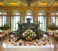 High tea at Kerzner's The Palace of the Lost City at Sun City, South Africa Please treat yourself for this very special High Tea ! Sun City South Africa, North Africa, Places Around The World, Around The Worlds, Namibia, Port Elizabeth, Holiday Places, Out Of Africa, Lost City