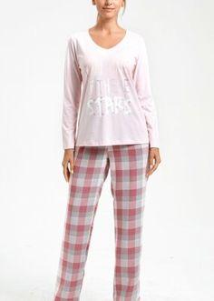 Adelina Pijama Takımı - PEMBE Bloom Coffee, Dark Flowers, Mavis, Pajama Pants, Model, Fashion, Moda, Sleep Pants