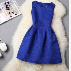 PRE-ORDER women Summer Casual Dress Sleevless women Summer Casual Dress Sleevless Plus size Evening Party Dresses Short vestidos Women Blue Dress. Available in black, blue, pink, red, white.  Need to ask me before buying if item is still available Dresses