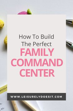 A family command center helps to reduce clutter and keep your home organized. Use this list of essentials and simple tips to create one for your house. Linen Closet Organization, Clutter Organization, Home Organization Hacks, Organizing Life, Bathroom Organization, Organizing Ideas, Getting Rid Of Clutter, Getting Organized, Family Command Center