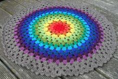 Granny Circle mandala free #crochet pattern by Crochet with Raymond