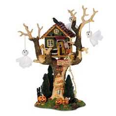 "Department 56: Products - ""Haunted Tree House"" - View Accessories"
