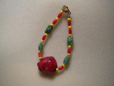Red and Green Apple Bracelet $20
