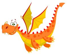 Cute Cartoon Baby Dragon Clip Art Images Are On A Transparent Background Clipart Png, Cartoon Dragon, Black And White Cartoon, Dragon Images, Dragon Pictures, Cute Dragons, Baby Dragon, Dragon Art, Free Illustrations