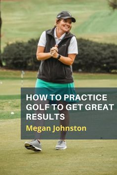 LPGA Professional teacher Megan Johnston answers your questions about how to improve your game on the range and at home. #golf #golftip #golfswing #golflessons #womensgolf Golf Books, Golf Instructors, Golf Score, Golf Chipping, Club Face, Best Golf Courses, Golf Putting, Golf Exercises, Golf Training