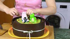 Videopostup, jak obalit dort čokoládou