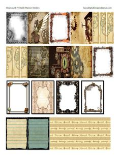 Printable Steampunk
