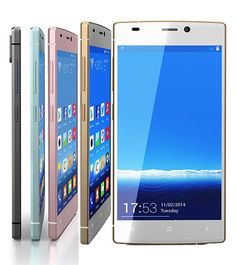 Gionee S5.5 boasts of the world's thinnest AMOLED screen, thinnest PCB board with a 0.6MM and 0.4mm glass rear cover.  http://www.ispyprice.com/mobiles/3133-gionee-elife-s5.5-price-list-india/