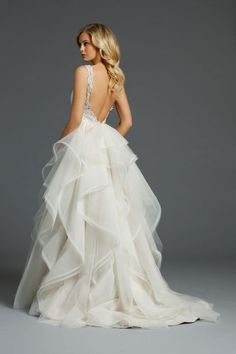 Alvina Valenta Wedding Dresses.  Gorgeous and completely romantic!