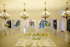 Wedding venue, five-star boutique wedding and conference venue - Chez Charlene Star Wedding, Pretoria, Hydrangeas, View Photos, Orchids, Wedding Venues, Flora, Roses, Ceiling Lights