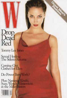 W MAGAZINE - MAY 1997 COVER MODEL - CHRISTY TURLINGTON