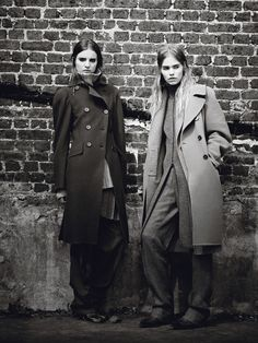 Fall Fashion: New York Designers Claim Their Turf  - From left: Donna Karan New York coat, sweater, and pants