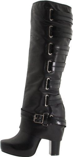 Jessica Simpson Women's Gilly Knee-High Boot, Black