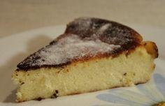Migliaccio, a semolina and ricotta cake