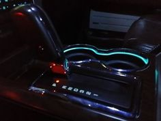 Custom Ford F150 LED Lights - F150LEDs.com— F150 Interior Cup Holder Ring Light Kit Page