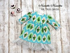 Nanette Noisettes FirTree Dress for Blythe #7
