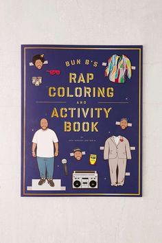 Bun Bs Rap Coloring And Activity Book By Shea Serrano