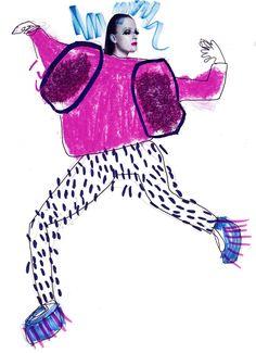 Elyse Blackshaw #fashion_illustration
