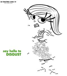 inside out disgust printables