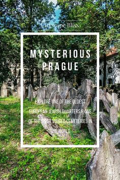 Explore the mysterious Prague: Jewish Cemetery, Jewish Quarter, Jewish legends about the Golem and much more!  Cityscape Bliss // Jewish Quarter in Prague