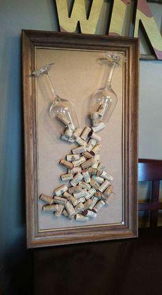 1 million+ Stunning Free Images to Use Anywhere Wine Craft, Wine Cork Crafts, Wine Bottle Crafts, Wine Cork Wreath, Wine Cork Art, Wine Bottle Corks, Diy Bottle, Wine Cork Projects, Wine Decor