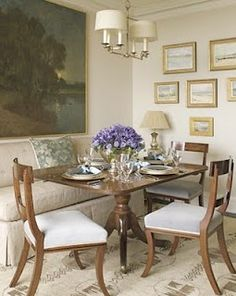 The Tiny House: Look at this darling table area...charming.