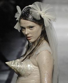 Coco rocha at jean paul gaultier couture s/s 2008