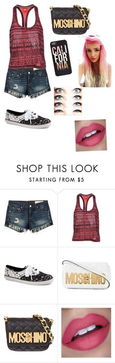 """California"" by samy-101 ❤ liked on Polyvore featuring interior, interiors, interior design, home, home decor, interior decorating, rag & bone/JEAN, NIKE, Keds and Moschino"