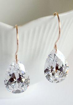 Gorgeous bridal earrings