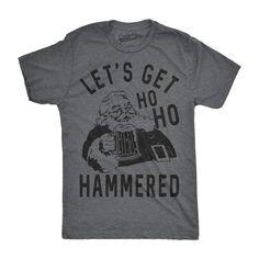 2e46b9e31 Ho Ho Hammered Men's Tshirt - mens t-shirts - CrazyDog T-Shirts Funny