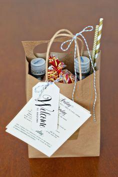 Wedding Welcome Bags | Handmade and Homegrown