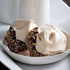 Chocolate-Hazelnut Meringues | CookingLight.com