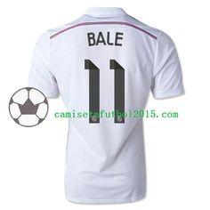 Nueva Camiseta de Bale del Real Madrid 2014 2015 1ª
