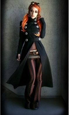 "Steampunk Fashion from the wonderful Kato steampunk - ☮k☮ - I could wear this ""everyday"""